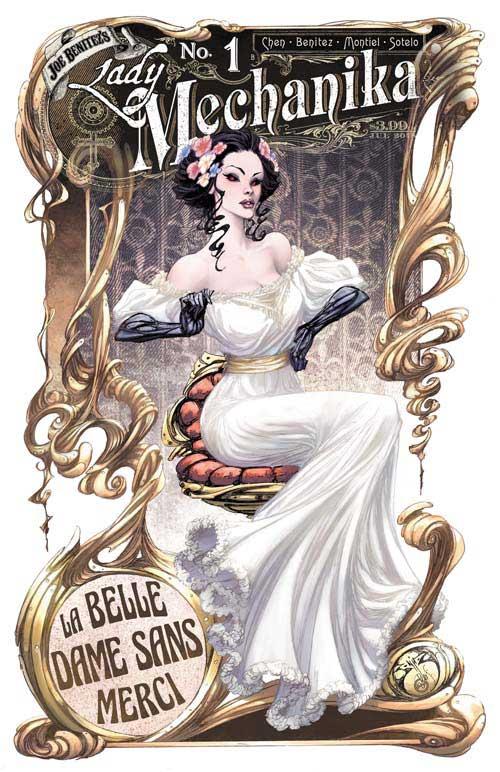 Lady Mechanika La Belle Dame Sans Merci 1-3 Complete Benittez Comic Lot Set B
